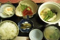 夜のおまかせ定食1200円